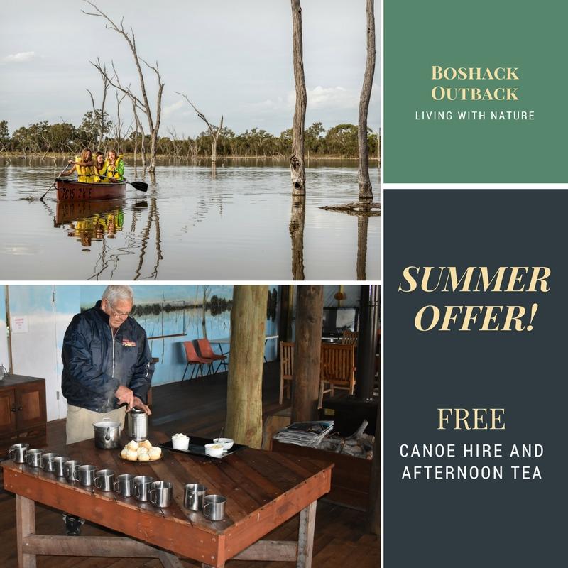 Boshack Outback Summer Offer