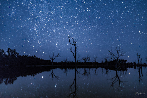 Stargazing in the great outback in Western Australia